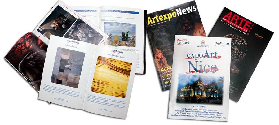 cataloghi ART  - liberementi for biancoscuro rivista d'arte