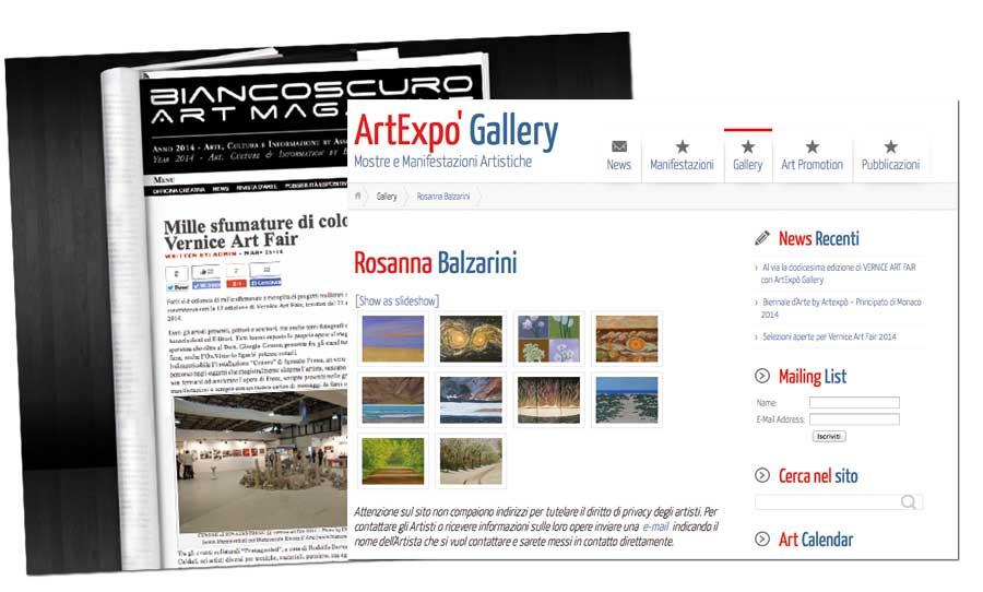 sito ART  - liberementi for biancoscuro rivista d'arte