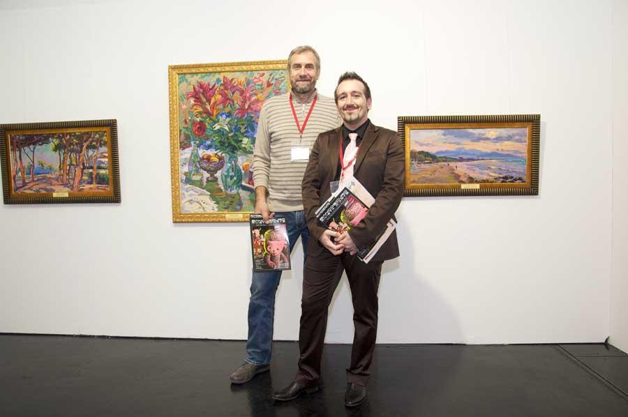 Chetta e Vladimir Valentsov ART Innsbruck - liberementi for biancoscuro
